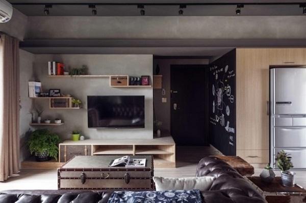 Decoração apartamento nerd