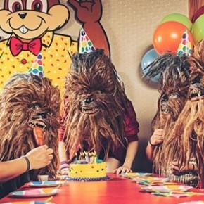 Wookiees - Série fotográfica retrata pessoas com cabeça de wookiee