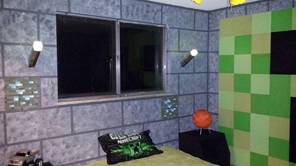 Minecraft Casal Cria Quarto Com Decora 231 227 O Tem 225 Tica Do Game