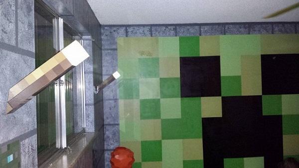 Quarto Decoração Minecraft