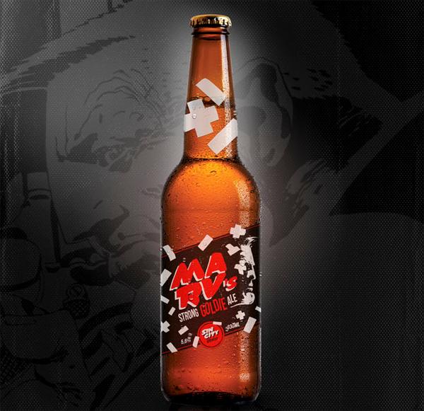 Cerveja Marvel e DC