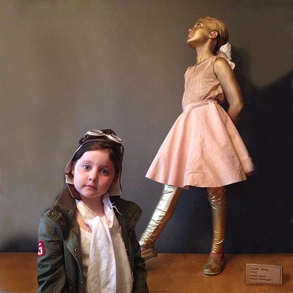 Criança Fantasia Amelia Earhart