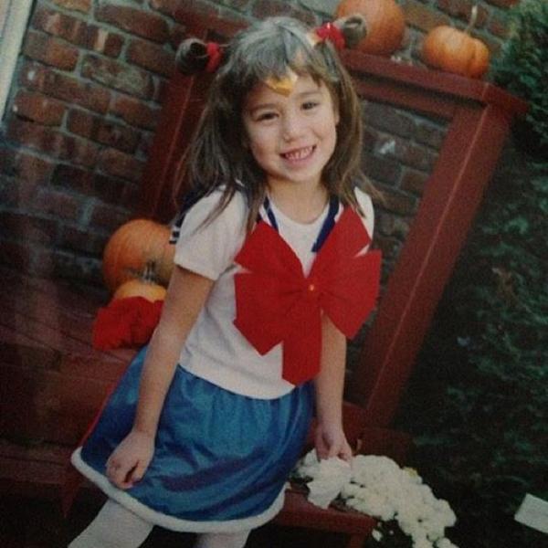 Criança Fantasia Sailor Moon