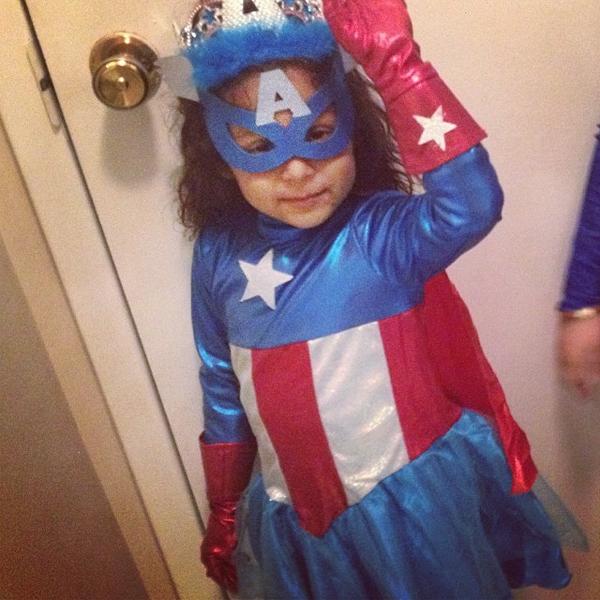 Criança Capitão América