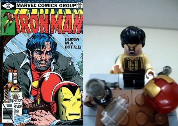 Capas de HQs com LEGO