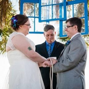 Casamento na Praia Inspirado em Doctor Who