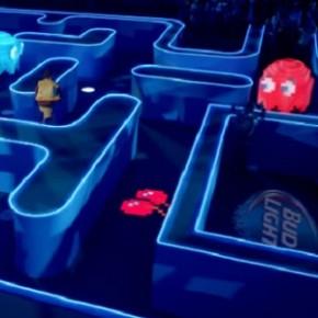 Budweiser cria jogo de Pac-Man gigante!