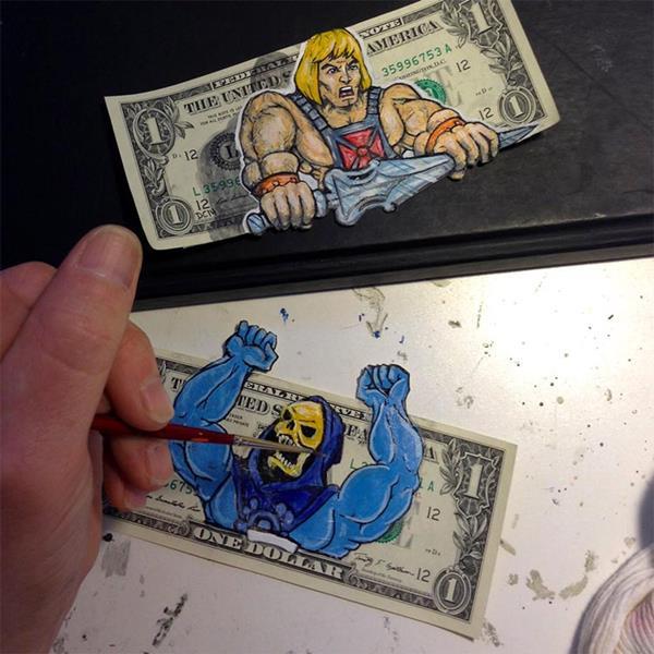 Arte em dólar