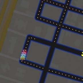 Google transforma serviço do Google Maps em Pac-Man