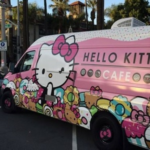 Food Truck da Hello Kitty