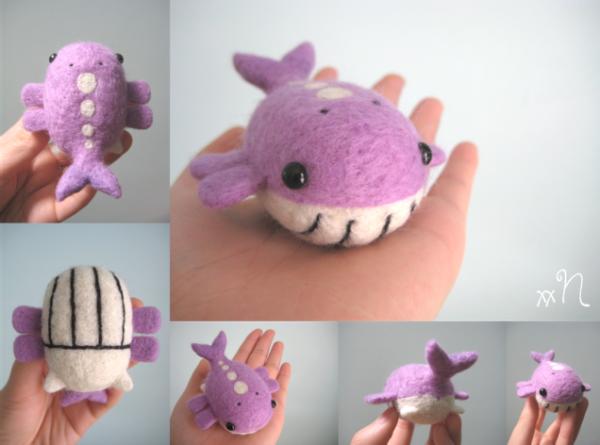 Mini Pokémons de Feltro