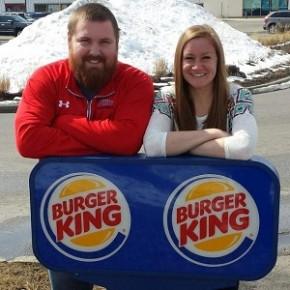 Burger King vai bancar a festa de casamento dos noivos Burger e King