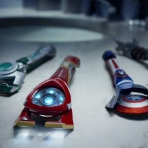 Lâminas da Gillette inspiradas nos Vingadores