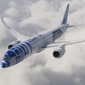 Companhia aérea japonesa cria avião inspirado em R2-D2 de Star Wars