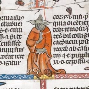 Manuscrito do século XIV tem ilustração parecida com Yoda