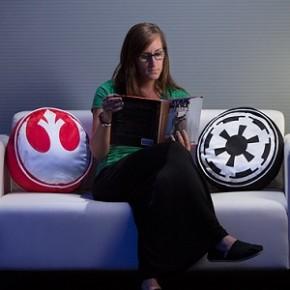 Almofadas inspiradas em Star Wars