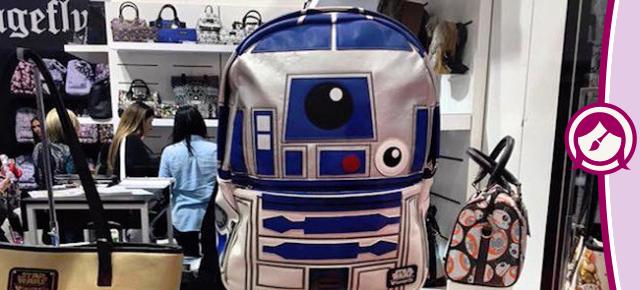 Star Wars - Coleção Loungefly de Bolsas, Mochilas e Carteiras