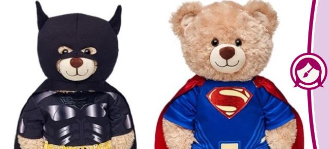 Batman vs. Superman ganha versões em ursos de pelúcia