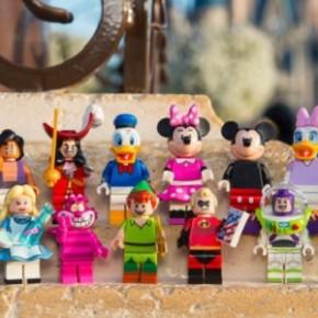 LEGO lança nova coleção de minifiguras Disney e Pixar