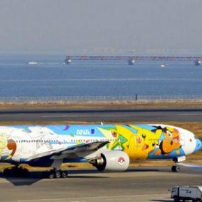 Aeronave Pokémon fez seu último voo no Japão