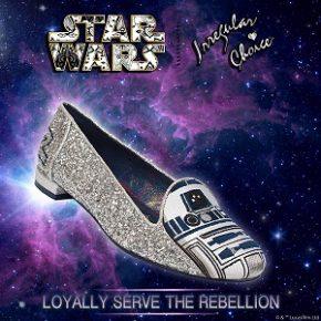 Coleção de sapatos inspirada em Star Wars