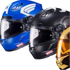 HJC Helmets lança capacetes oficiais da Marvel