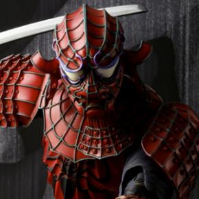 Homem-Aranha versão Samurai: Primeiras imagens action figure Bandai