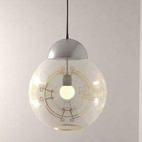 Designer cria luminárias minimalistas de Star Wars