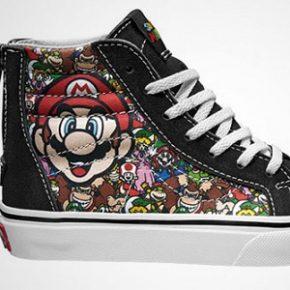 Vans lança linha de tênis inspirada na Nintendo