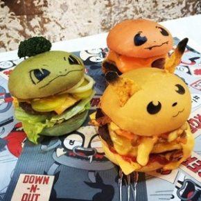 Lanchonete australiana cria hambúrgueres de Pokémon