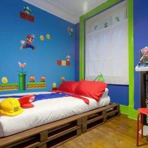 Airbnb tem quarto inspirado em Super Mario