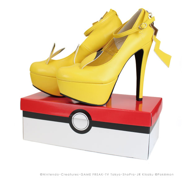 Marca japonesa lança sapatos de Pikachu