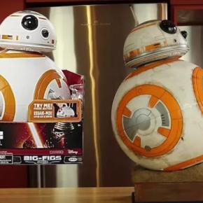 Fã de Star Wars personaliza pintura de BB-8