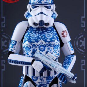 Hot Toys lança action figure Stormtrooper versão porcelana chinesa