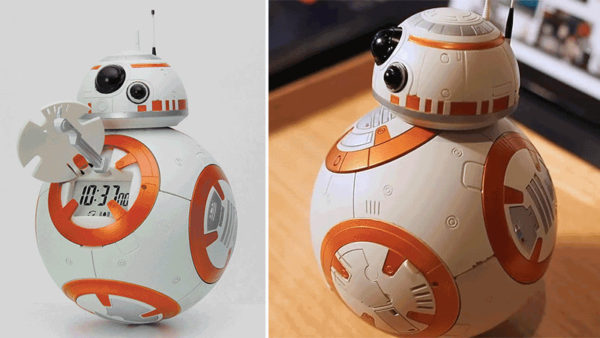 Despertador BB-8 com músicas de Star Wars