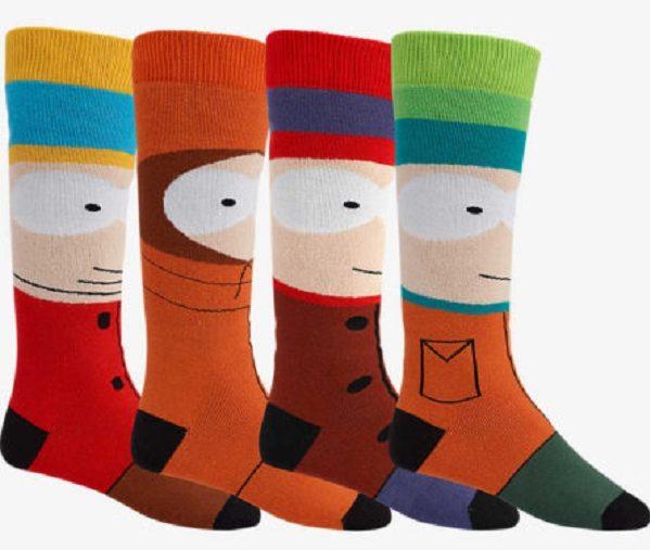 Coleção de roupas e acessórios inspirada em South Park