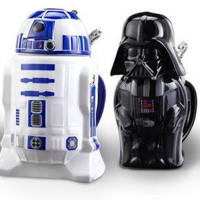 Canecos de chopp para os fãs de Star Wars
