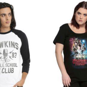Coleção exclusiva de roupas e acessórios Stranger Things