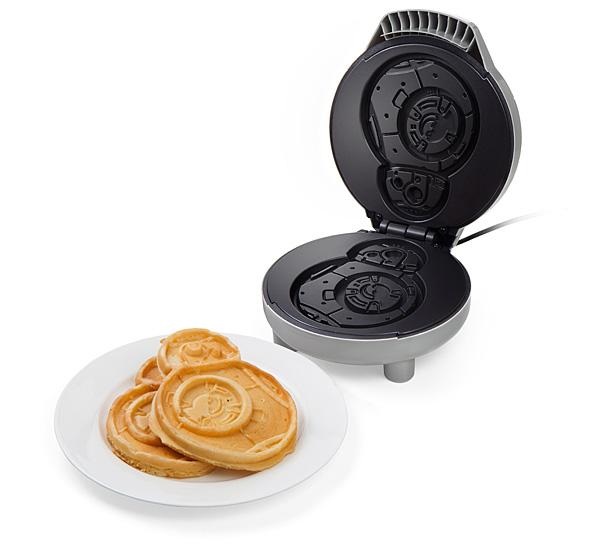 Máquina de waffle BB-8 traz uma galáxia distante para o seu café-da-manhã