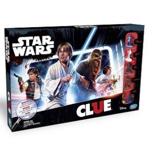 Hasbro lança jogo Clue de Star Wars em edição 3D