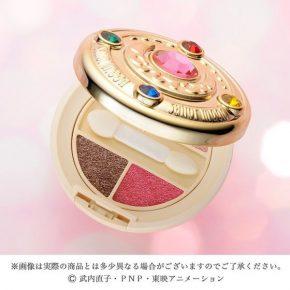 Transforme sua maquiagem com o broche de sombras Sailor Moon