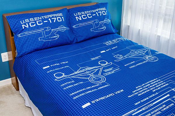 Jogos de cama para os fãs de Star Trek