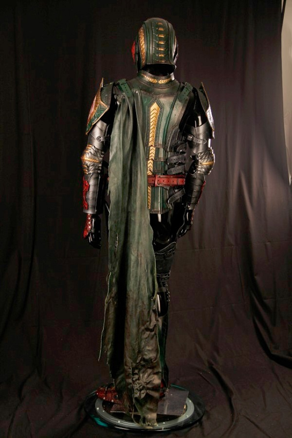 Armadura medieval de couro inspirada em Boba Fett