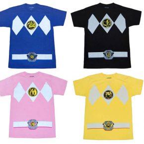 C&A lança coleção de camisetas Power Rangers