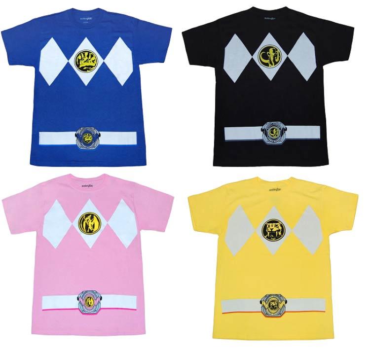 C&A lança coleção de camisetas dos Power Rangers