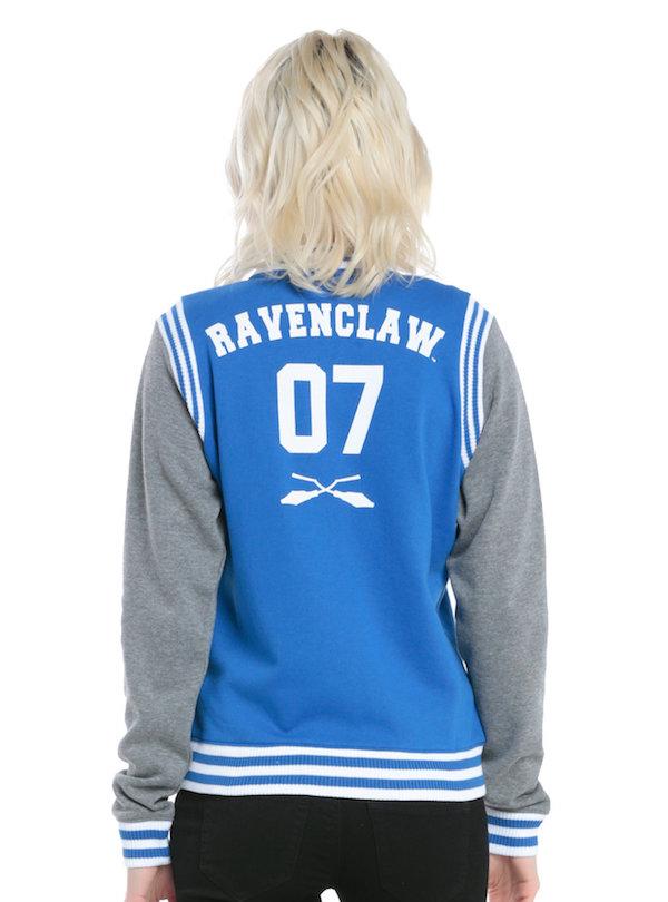 Jaquetas de Quadribol das quatro casas de Hogwarts