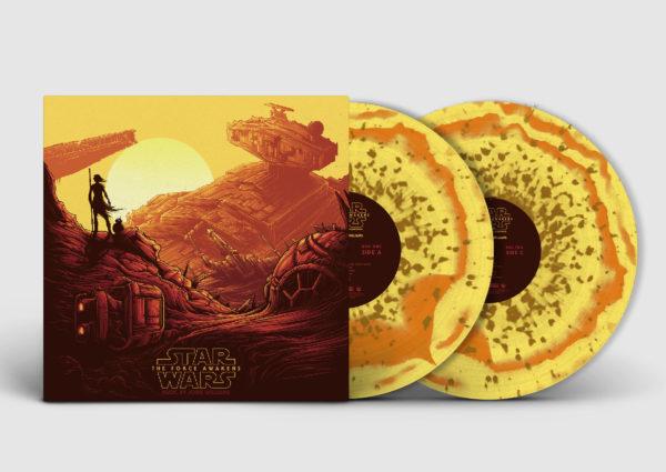 Série de vinis colecionáveis de Star Wars: Episódio VII - O Despertar da Força