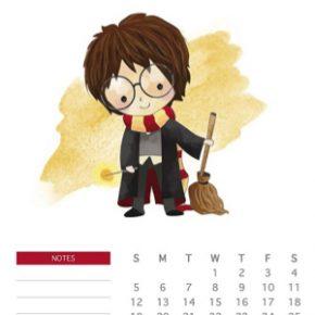 Organize seu ano com lindos calendários nerds