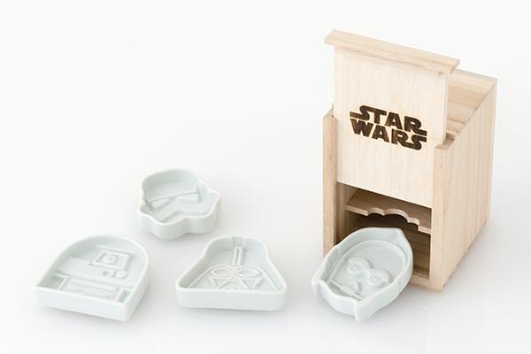 Conjunto de pratos Star Wars para molho de soja: complementos perfeitos para o seu sushi