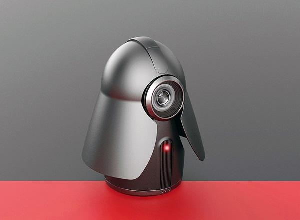 Câmera de segurança inspirada em Darth Vader
